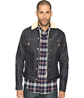 Naked & Famous - Sherpa Lined Left Hand Twill Denim Jacket