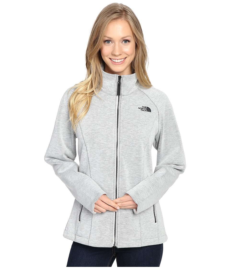 The North Face Far Northern Full Zip (Vaporous Grey Heather (Prior Season)) Women