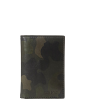 Jack Spade - Camo Leather Vertical Flap Wallet