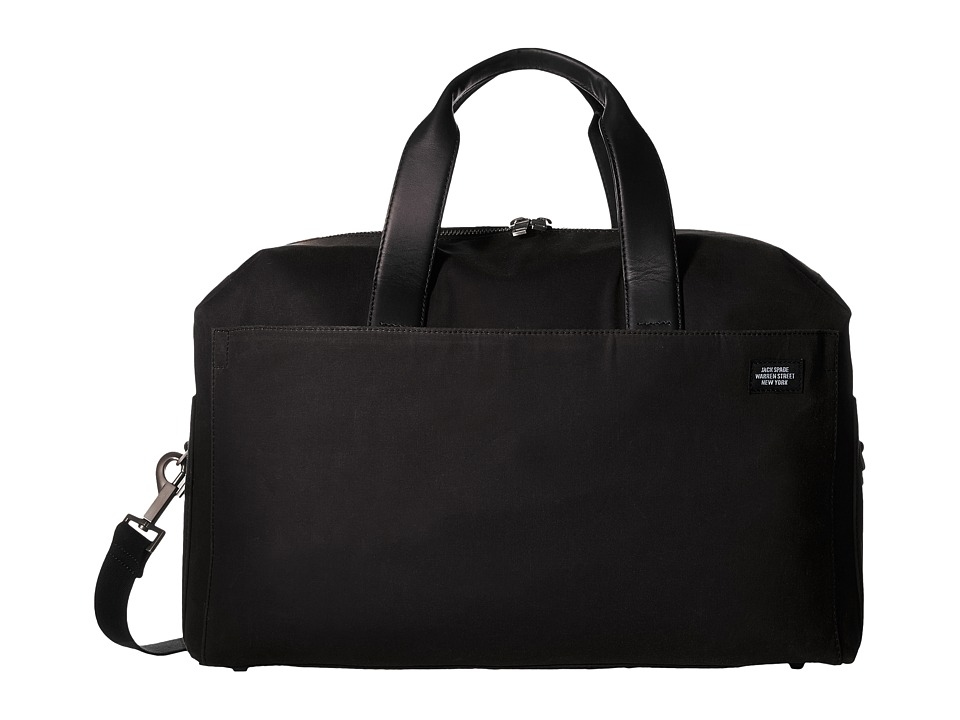 Jack Spade Waxwear Overnight Bag (Chocolate) Duffel Bags