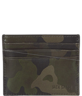 Jack Spade - Camo Leather 6-Card Holder