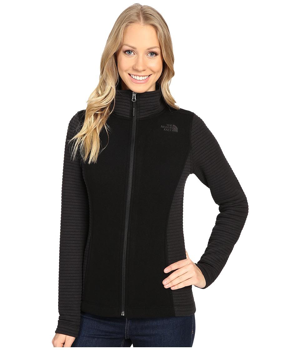 The North Face Indi Full Zip Jacket (TNF Black Heather/TNF Black) Women