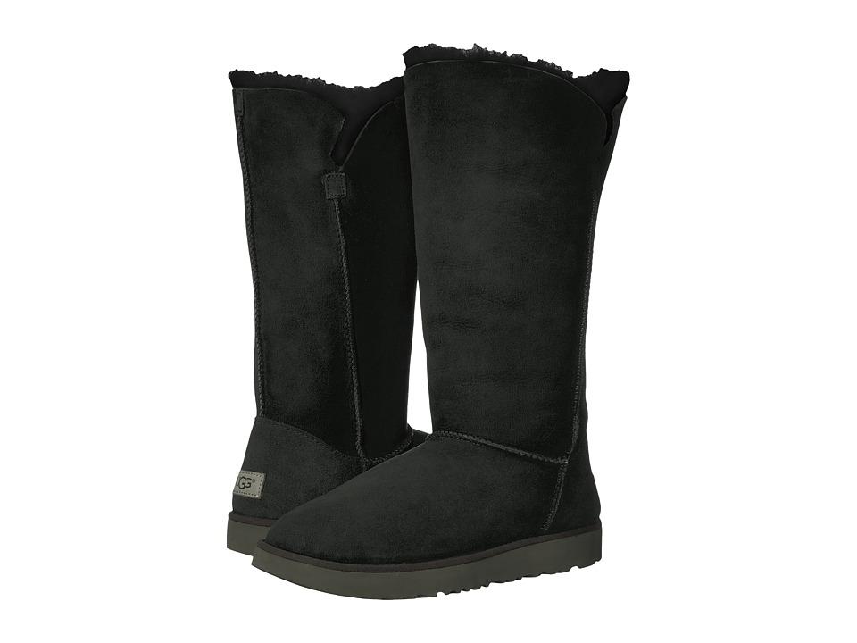 Ugg Classic Cuff Tall (Black) Women's Shoes