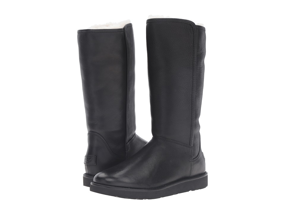 UGG Abree II Leather (Nero) Women