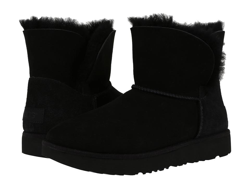 Ugg Classic Cuff Mini (Black) Women's Shoes