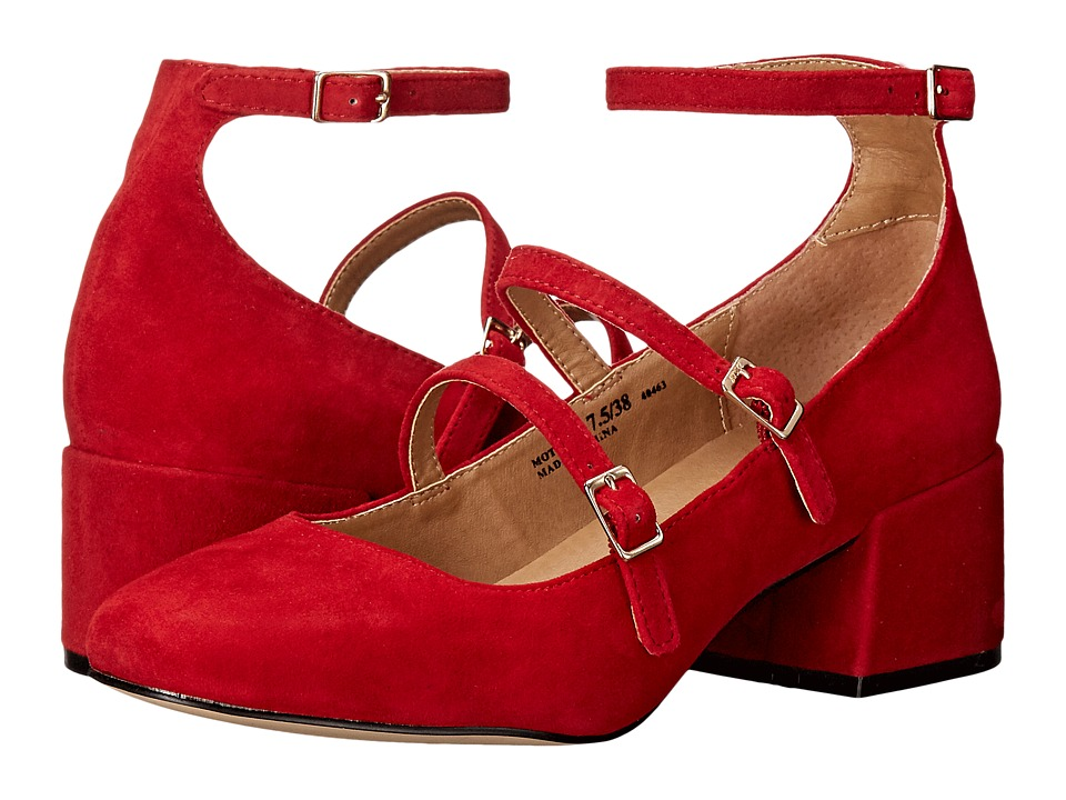 Chinese Laundry - Moto (Red Kid Suede) Women