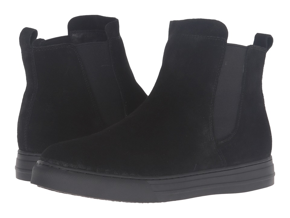 Dirty Laundry Fabina (Black Split Suede) Women