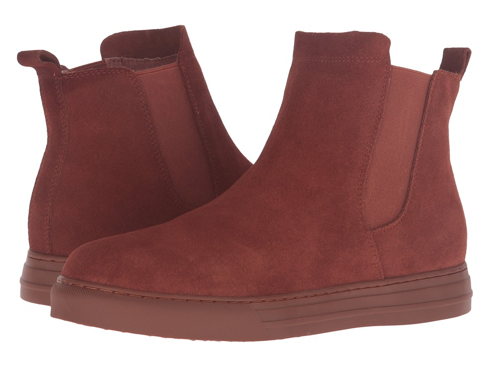 Dirty Laundry Fabina (Rust Split Suede) Women
