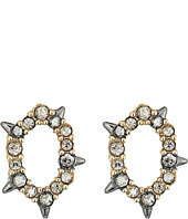 Alexis Bittar - Crystal Encrusted Spiked Stud Earrings