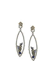 Alexis Bittar - Crystal Stepped Fancy Pyramid Wire Earrings