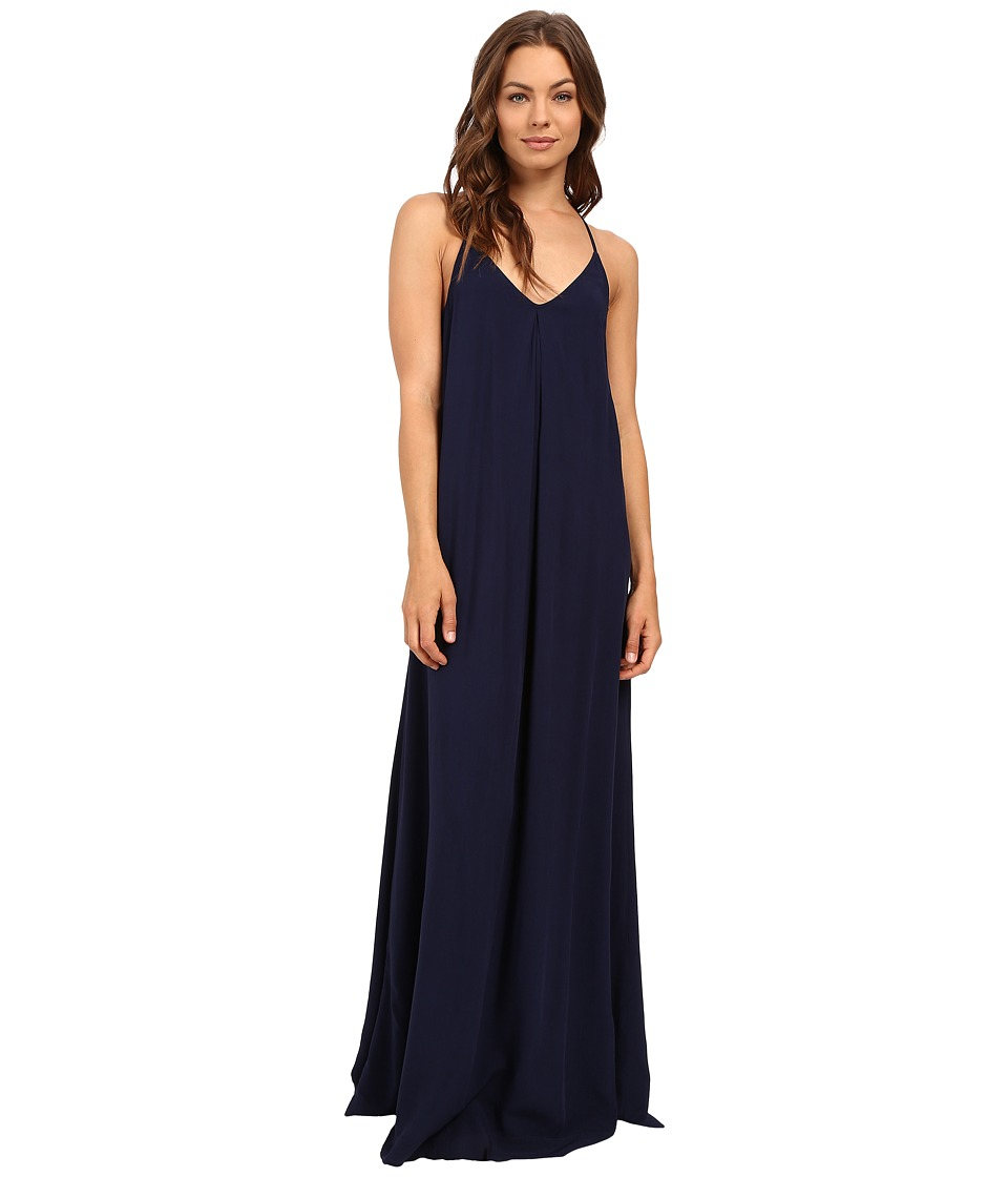 Michael Stars Modern Rayon Maxi Slip Dress (Nocturnal) Women
