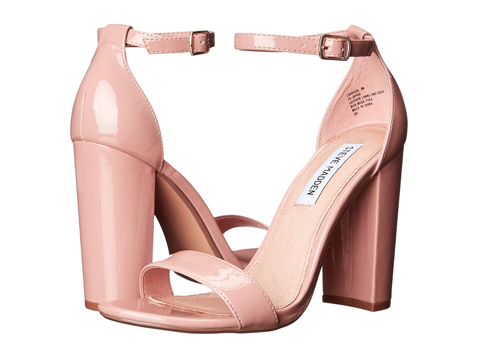 Steve Madden - Carrson (Blush Patent) High Heels