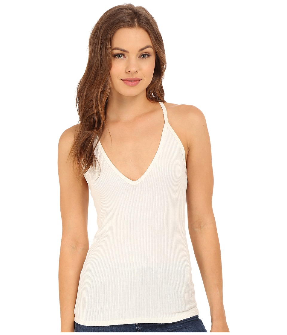 Project Social T Ammie Cami Ivory Womens Sleeveless