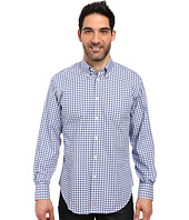 Thomas Dean & Co. - Long Sleeve Woven Tattersal Button Down