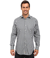 Thomas Dean & Co. - Long Sleeve Woven Shirt Large Check