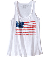 The Original Retro Brand Kids - Cotton Racerback Flag Tank Top (Little Kids/Big Kids)