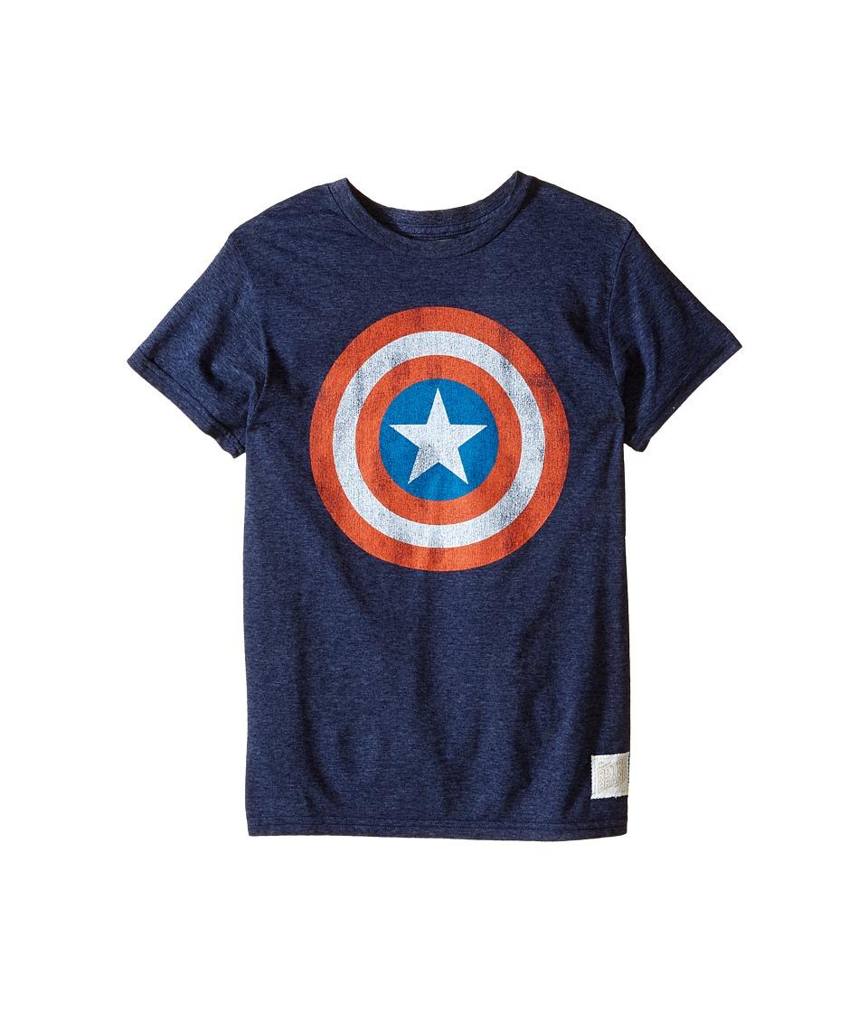 The Original Retro Brand Kids - Captain America Tri-Blend Tee