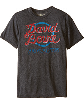 The Original Retro Brand Kids - David Bowie World Tour Short Sleeve Mock Twist Tee (Little Kids/Big Kids)