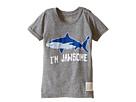 The Original Retro Brand Kids I'm Jawsome Shark Short Sleeve Tri-Blend Tee (Toddler)