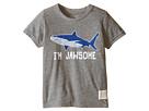 The Original Retro Brand Kids I'm Jawsome Shark Short Sleeve Tri-Blend Tee (Little Kids/Big Kids)