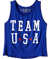 The Original Retro Brand Kids - Team USA Rayon Swingy Tank Top (Little Kids/Big Kids)