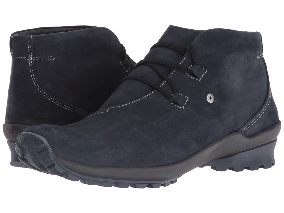 Wolky Arctic (Blue Nepal Oiled Leather) Women
