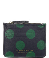 Scotch & Soda - Credit Card Holder in Leather Quality with Zip
