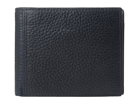 Fossil Mayfair RFID Large Coin Pocket Bifold - Navy