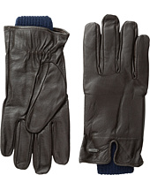 Scotch & Soda - Double Layer Gloves in Leather and Wool Quality