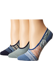 Sperry Top-Sider - Fair Isle Canoe Liner 3-Pack