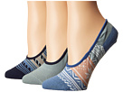 Sperry Top-Sider Fair Isle Canoe Liner 3-Pack