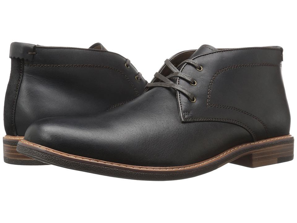 Dockers - Longden (Black Burnished Full Grain) Men