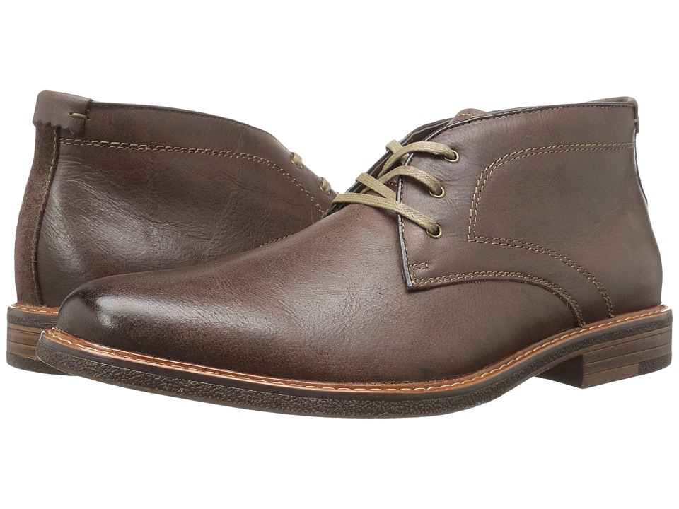 Dockers - Longden (Red Brown Burnished Full Grain) Men