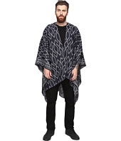 Scotch & Soda - Poncho Scarf with All-Over Woven Pattern