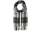 Classic Scarf in Brushed Quality with Check Pattern