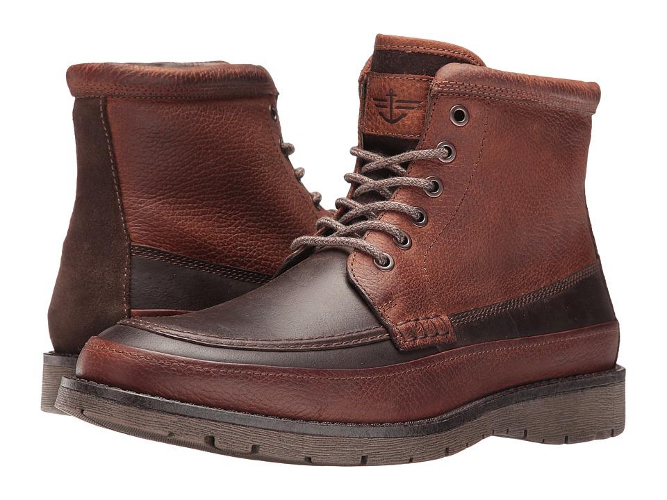 Dockers Randol (Red Brown Crazy Horse) Men