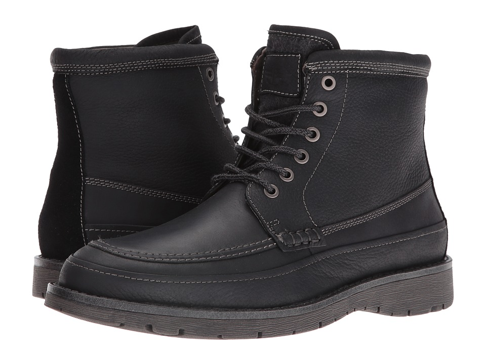 Dockers Randol (Black Oiled Tumbled Full Grain) Men