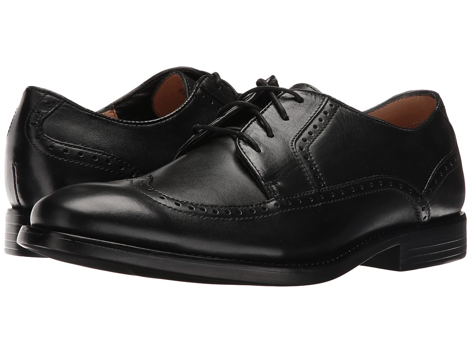Dockers Robertson (Black Polished Full Grain) Men