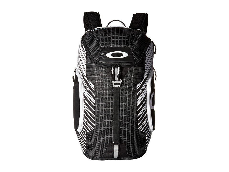 Oakley - Link Pack (Black/White) Backpack Bags