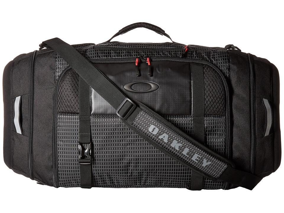 Oakley - Link Duffel (Jet Black) Duffel Bags