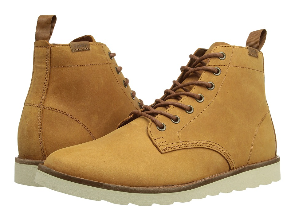 Vans Sahara Boot ((Leather) Light Brown) Men