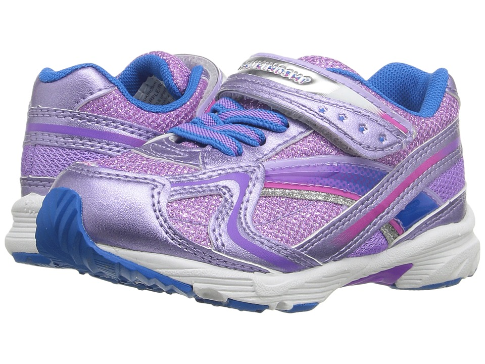 Tsukihoshi Kids - Glitz (Toddler/Little Kid) (Purple/Royal) Girls Shoes
