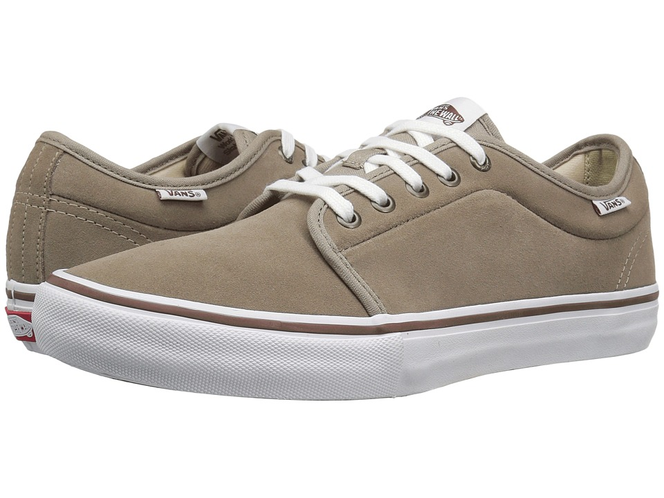 Vans Chukka Low Pro (Desert Taupe/White) Men