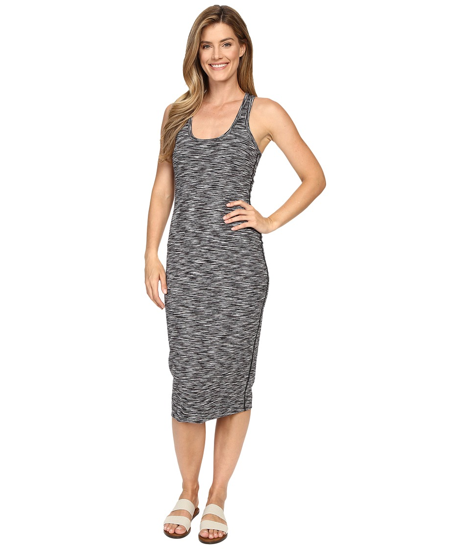 Hard Tail Pencil Dress (Black Space Perf Jersey) Women