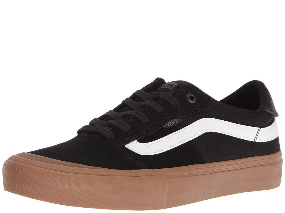 Vans Style 112 Pro (Black/White/Gum) Men