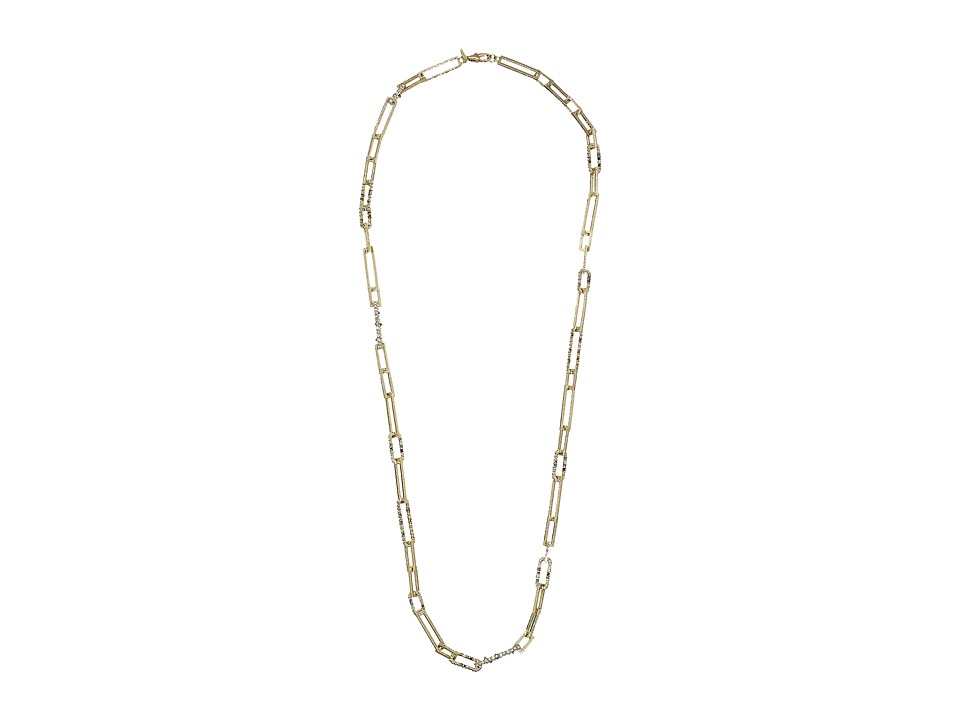 Alexis Bittar - Crystal Encrusted Link Strand Necklace
