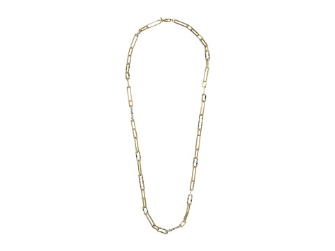 Alexis Bittar Crystal Encrusted Link Strand Necklace