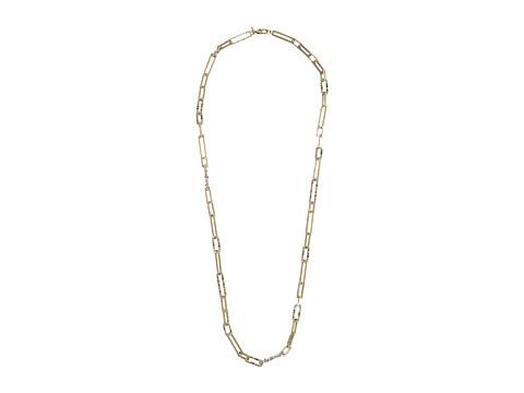 Alexis Bittar Crystal Encrusted Link Strand Necklace