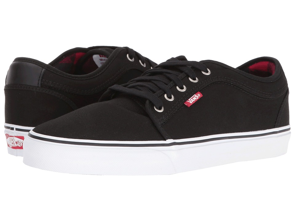 Vans - Chukka Low ((Flannel) Black/Chili Pepper) Mens Skate Shoes