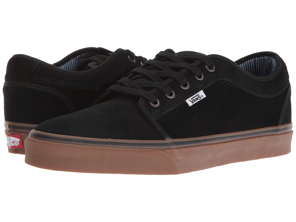 Vans - Chukka Low ((Work Wear) Black/Gum) Mens Skate Shoes